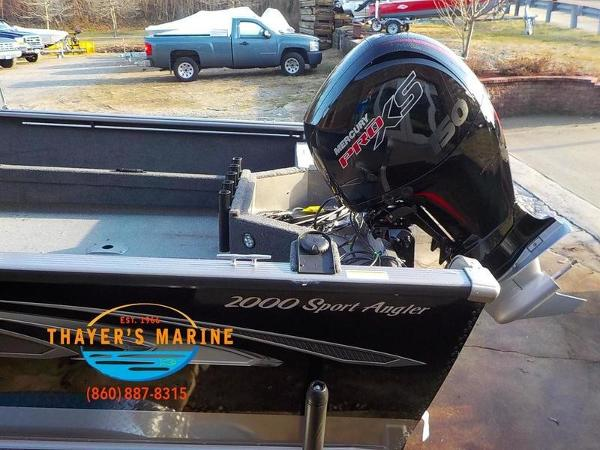2019 Lund boat for sale, model of the boat is 2000 Sport Angler & Image # 16 of 36