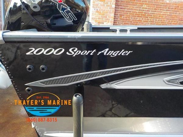 2019 Lund boat for sale, model of the boat is 2000 Sport Angler & Image # 17 of 36