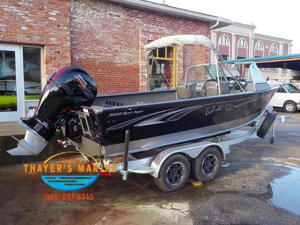 2019 Lund boat for sale, model of the boat is 2000 Sport Angler & Image # 18 of 36
