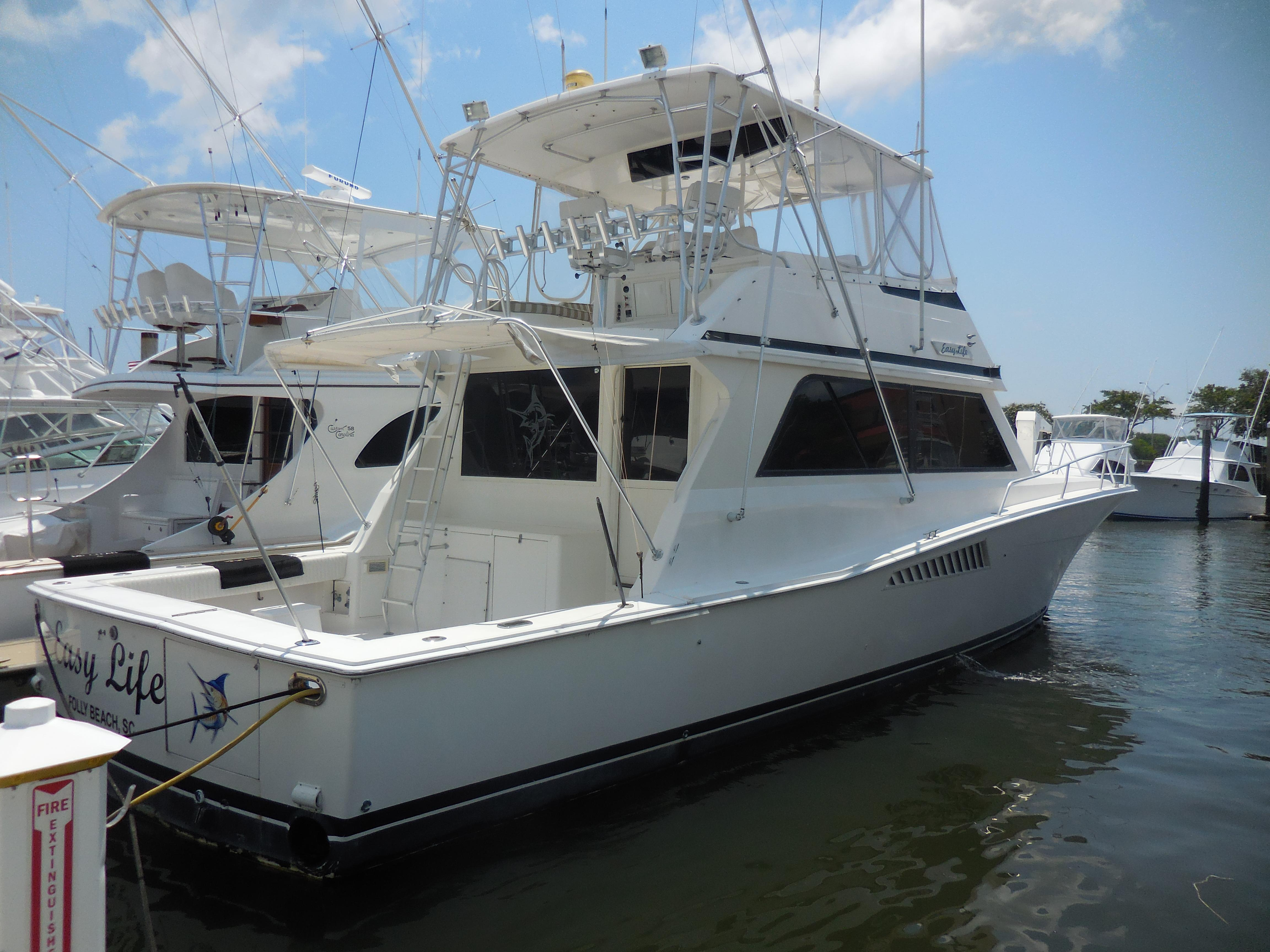 53 viking yachts 1992 easy life for sale in charleston for Viking sport fish