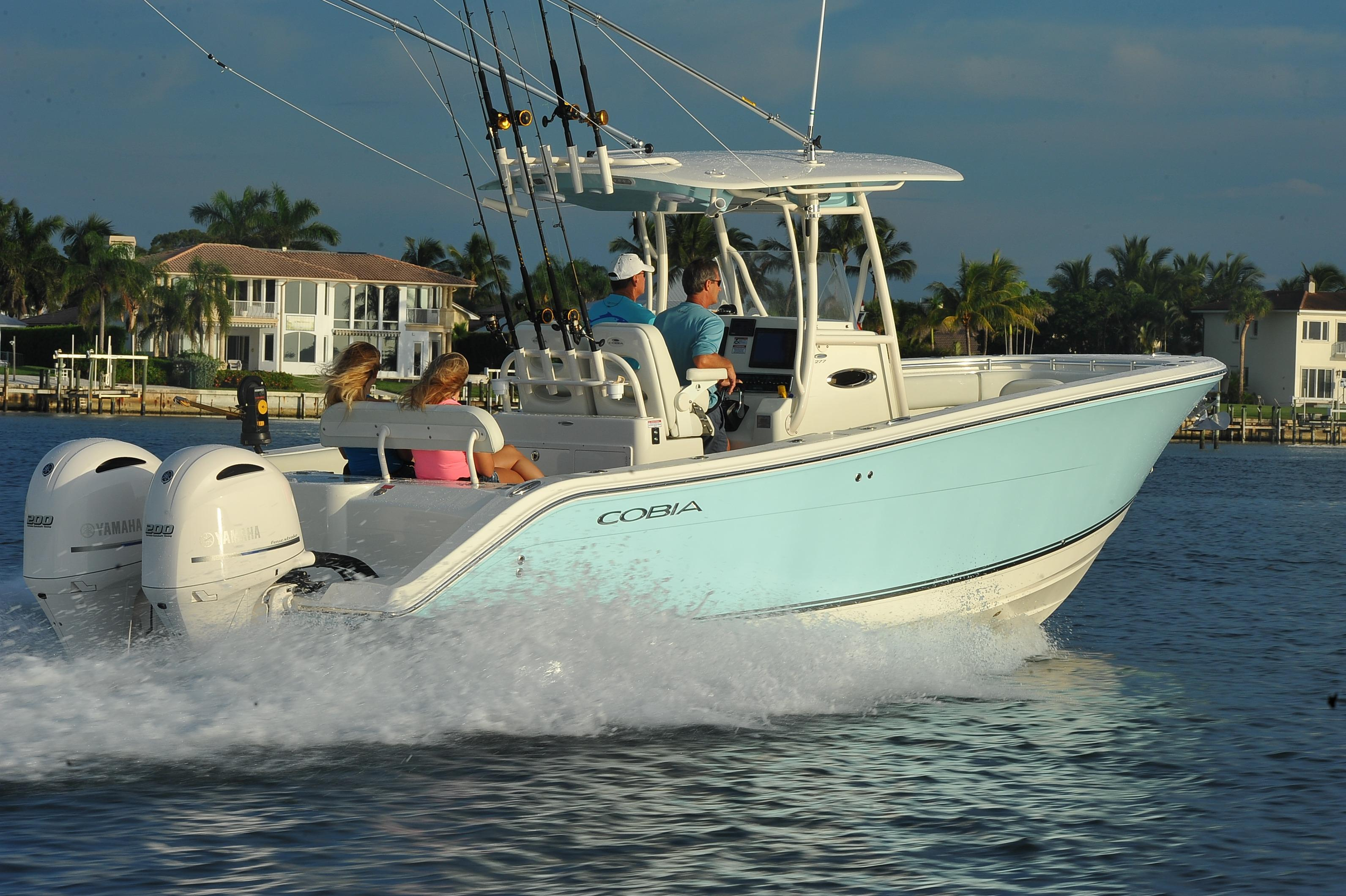 Cobia 277 Center Console - In Stock