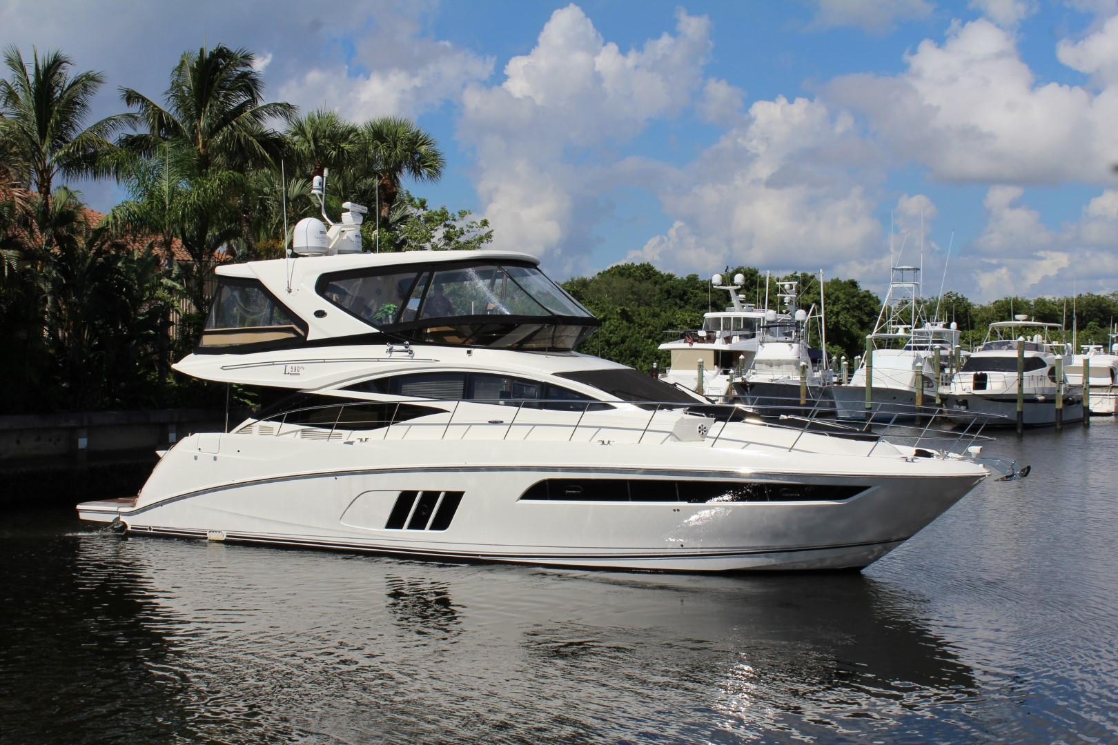 59 ft Sea Ray L590 Fly RARE MAN INBOARDS