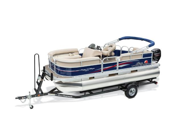 2016 Sun Tracker boat for sale, model of the boat is Party Barge 18 DLX & Image # 1 of 23