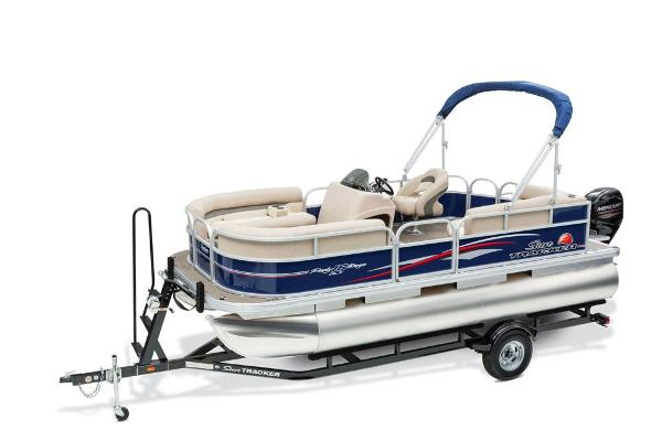 2016 Sun Tracker boat for sale, model of the boat is Party Barge 18 DLX & Image # 5 of 23