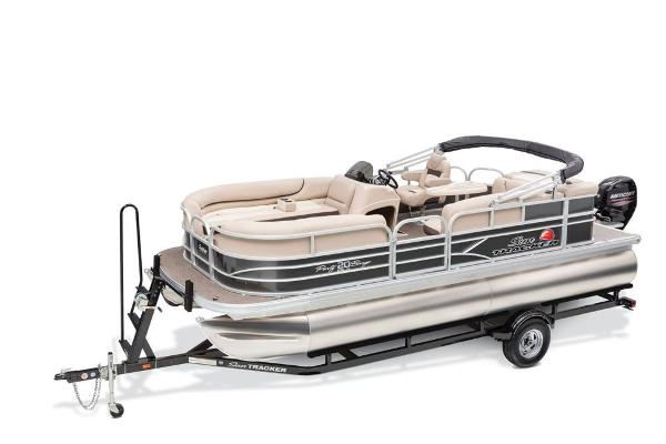 2016 Sun Tracker boat for sale, model of the boat is Party Barge 20 DLX & Image # 3 of 74