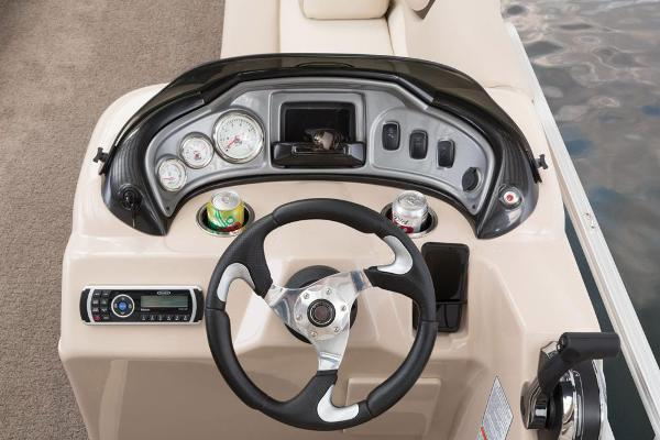 2016 Sun Tracker boat for sale, model of the boat is Party Barge 20 DLX & Image # 40 of 74