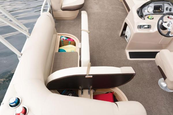 2016 Sun Tracker boat for sale, model of the boat is Party Barge 20 DLX & Image # 52 of 74