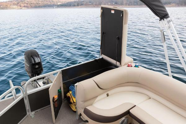 2016 Sun Tracker boat for sale, model of the boat is Party Barge 20 DLX & Image # 69 of 74