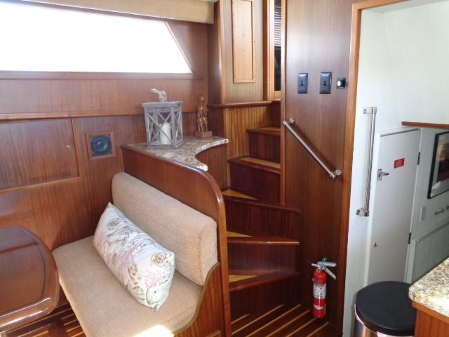 Hatteras 53 Motor Yacht - Galley Steps