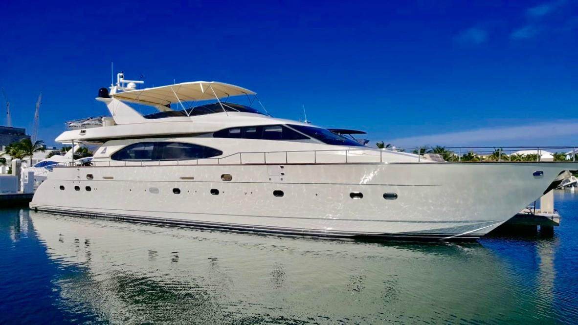 85 Azimut Gratitude 1999 Miami | Denison Yacht Sales