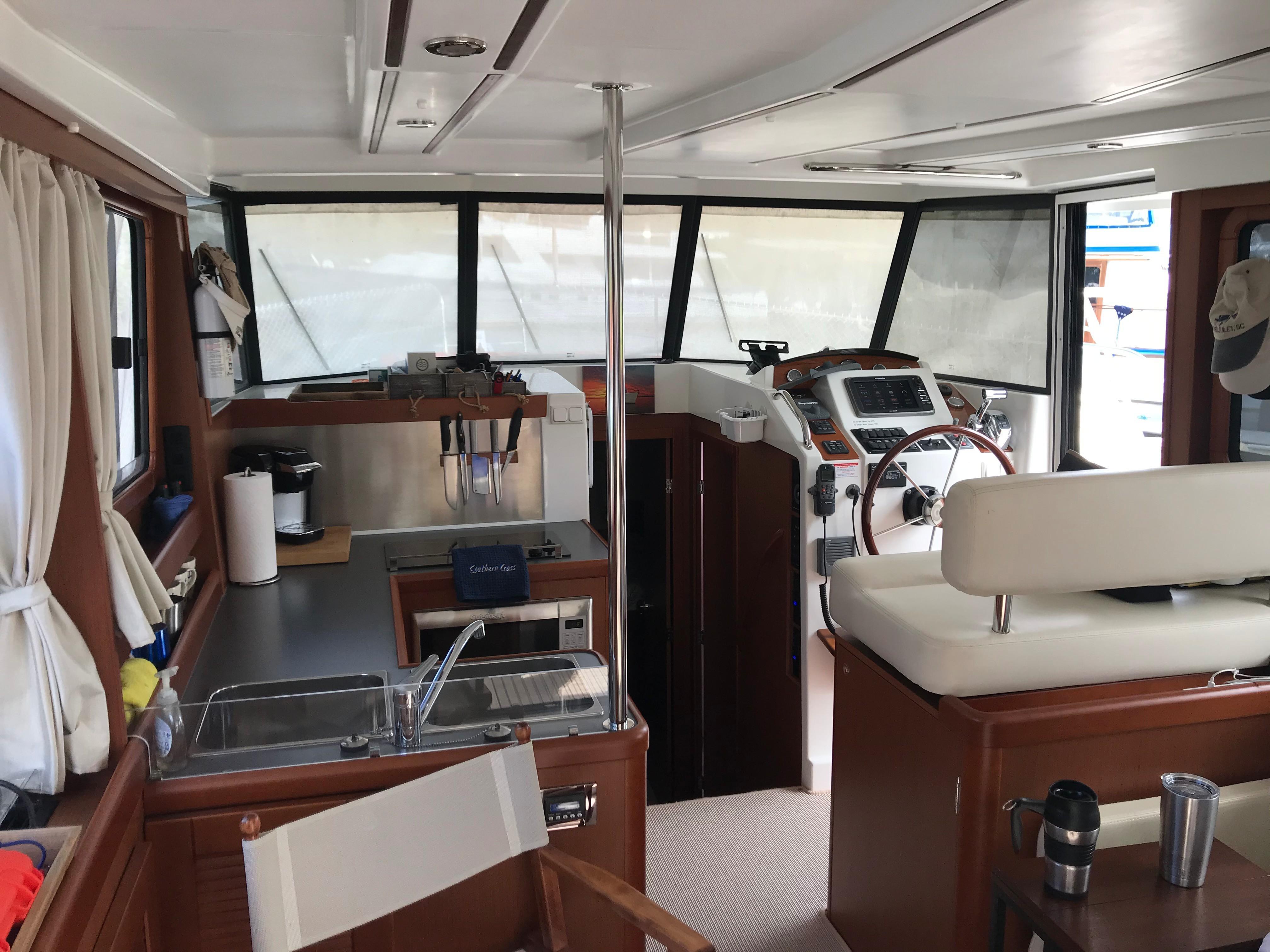 Beneteau 34 Swift Trawler - Interior Looking forward