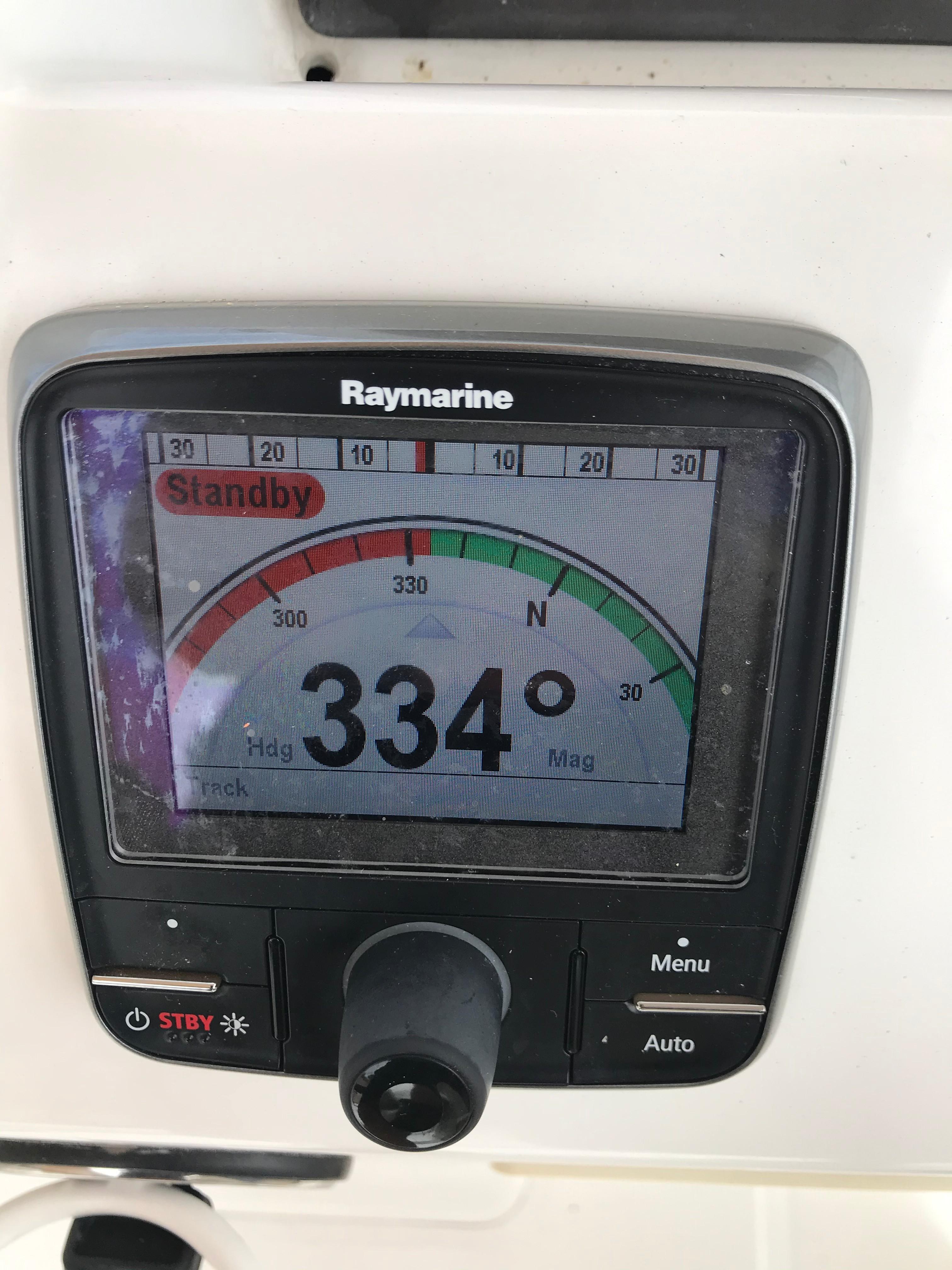 Beneteau 34 Swift Trawler - Raymarine Autopilot