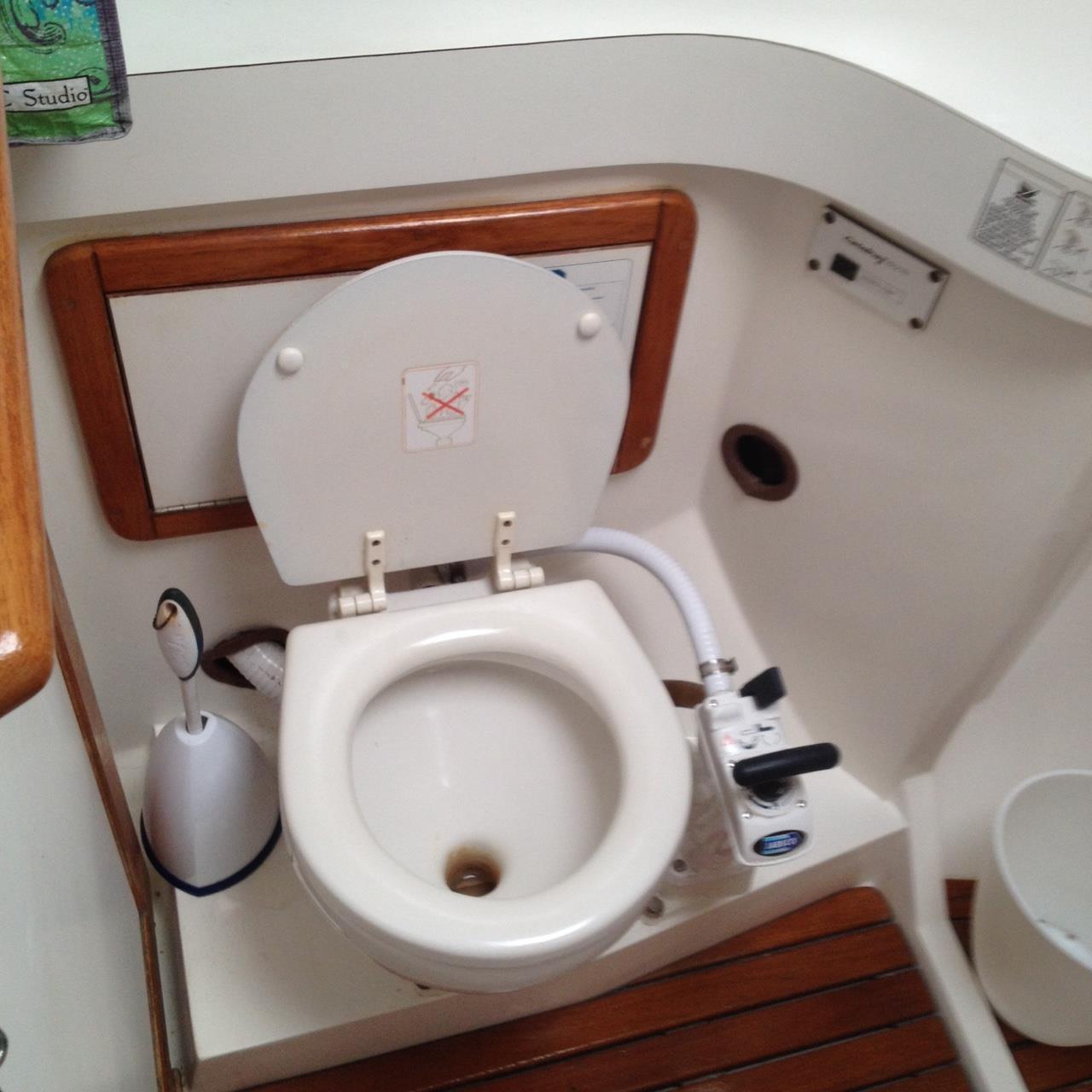 Aft Toilet