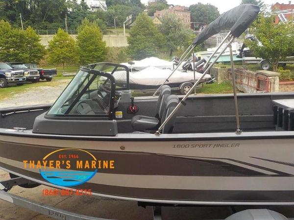 2020 Lund boat for sale, model of the boat is 1800 Sport Angler Sport & Image # 4 of 49