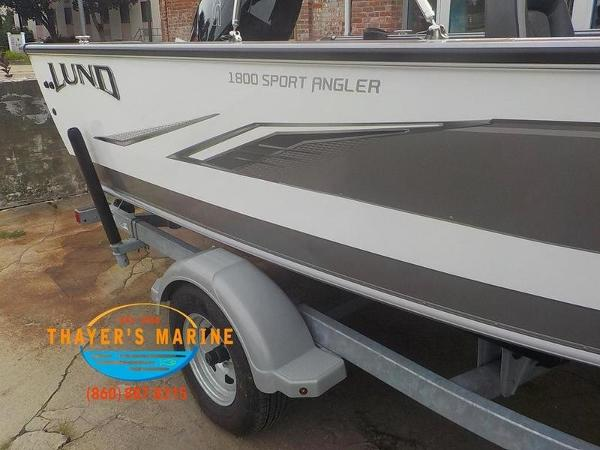2020 Lund boat for sale, model of the boat is 1800 Sport Angler Sport & Image # 47 of 49