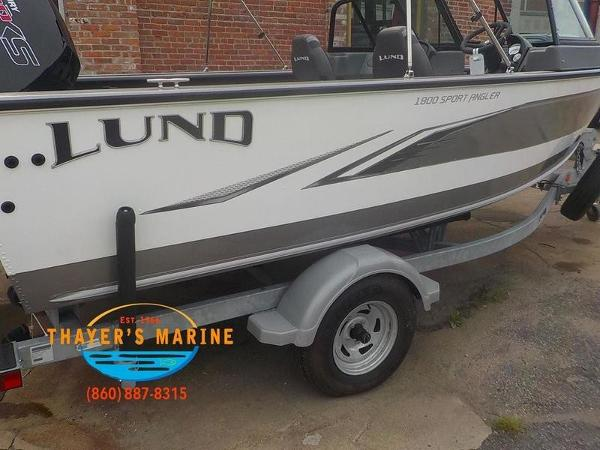 2020 Lund boat for sale, model of the boat is 1800 Sport Angler Sport & Image # 48 of 49
