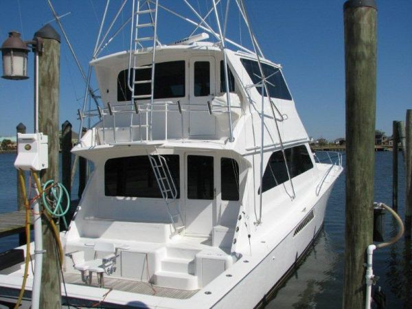 Viking Convertible with upgraded 2008 CAT engines Convertible Boats