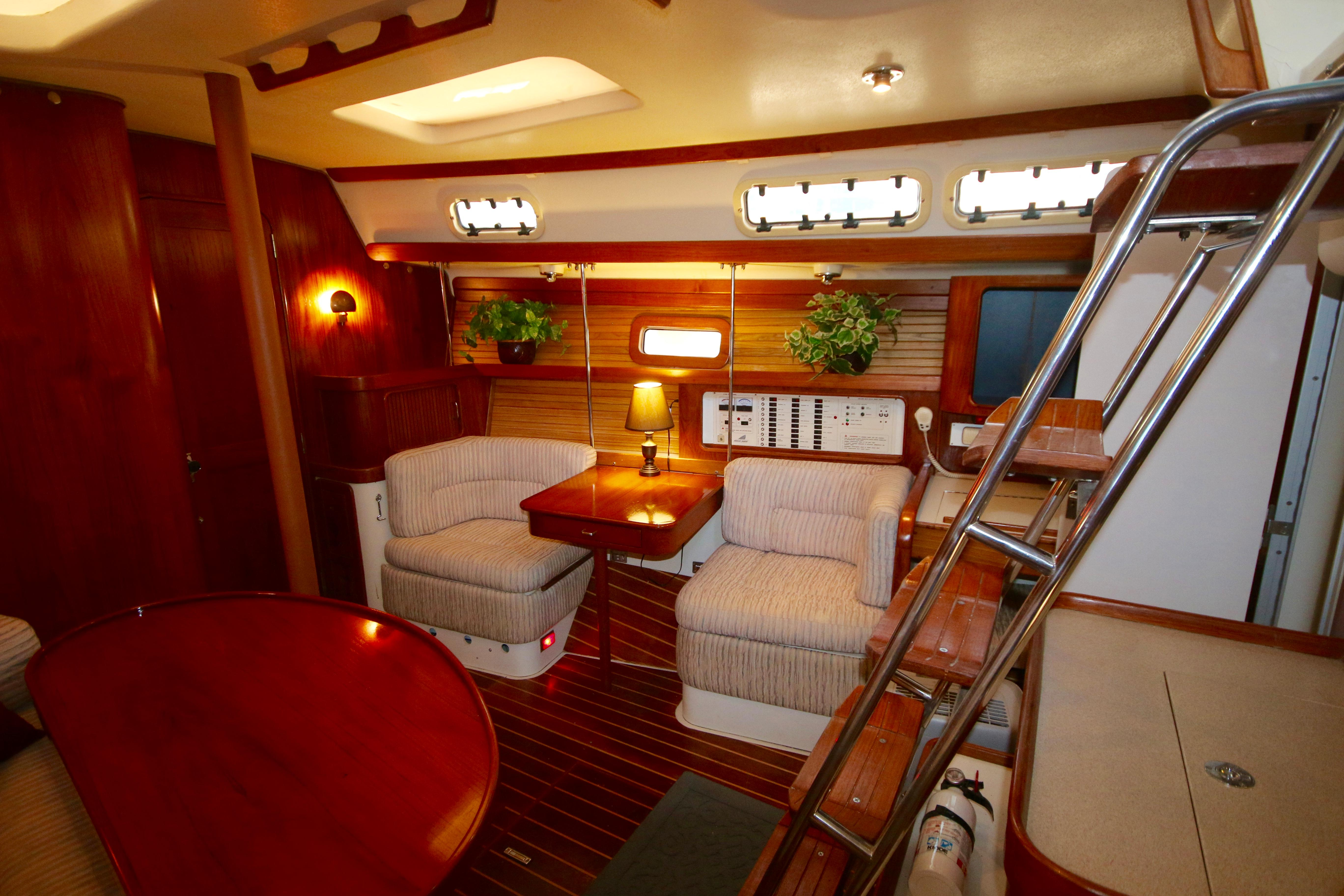 The Dinette Converts Into A Double Berth