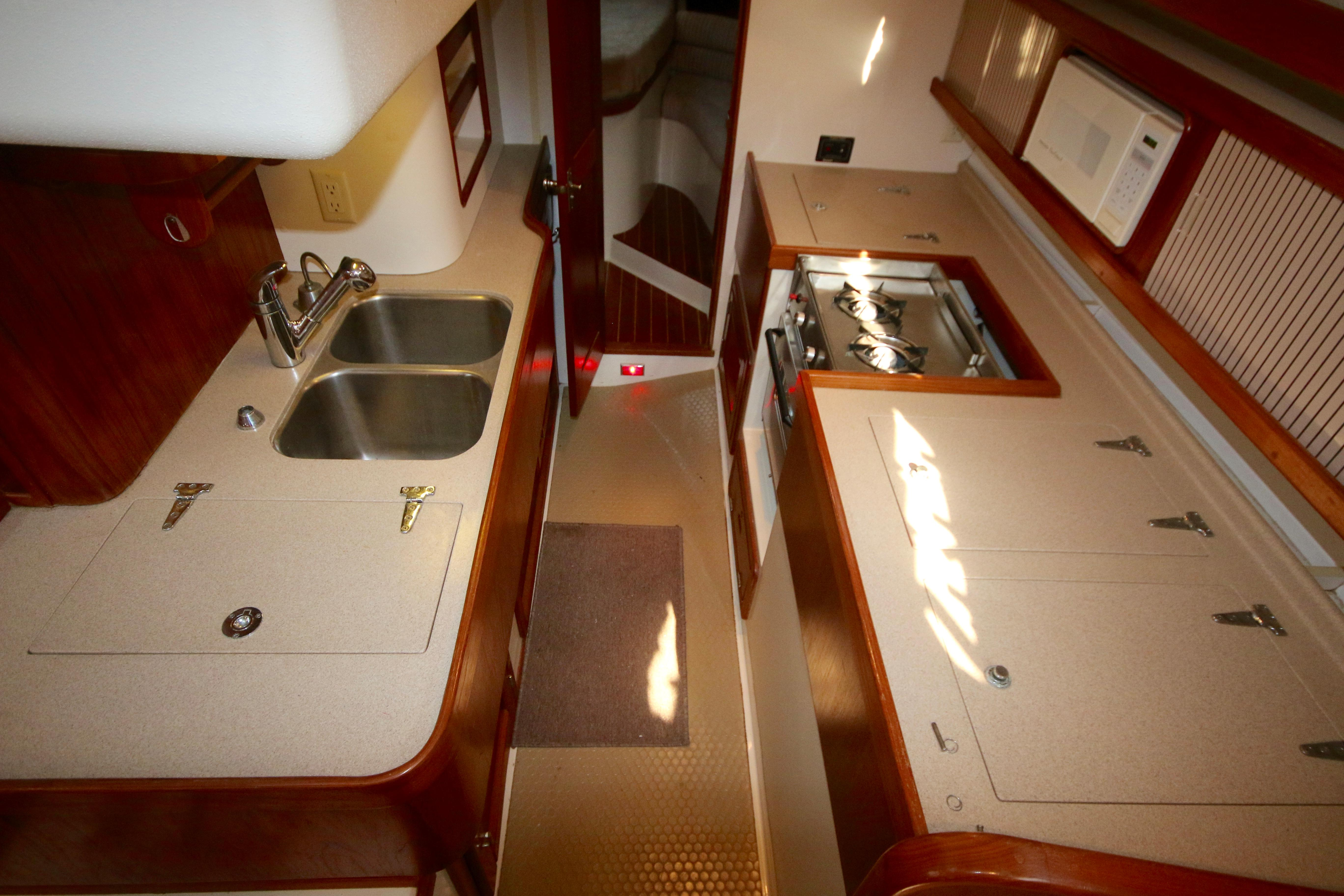 The Forward Cabin Has A V Berth And Is En-suite