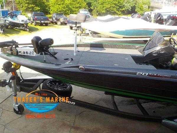 2019 Triton boat for sale, model of the boat is 20TRX Patriot & Image # 2 of 52
