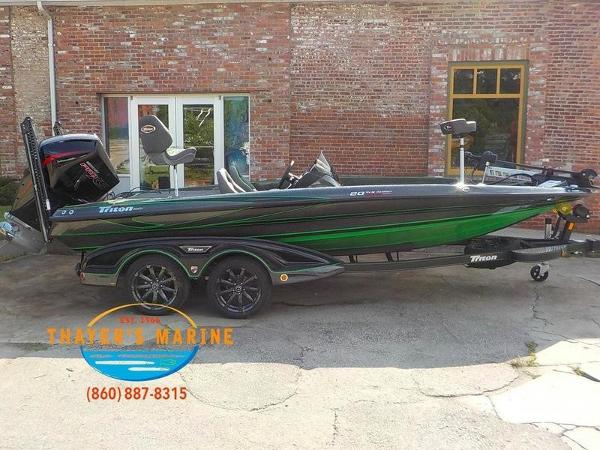 2019 Triton boat for sale, model of the boat is 20TRX Patriot & Image # 7 of 52
