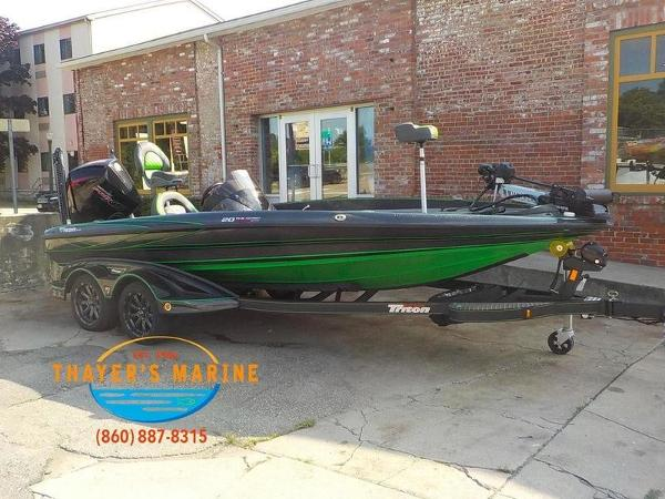 2019 Triton boat for sale, model of the boat is 20TRX Patriot & Image # 1 of 52