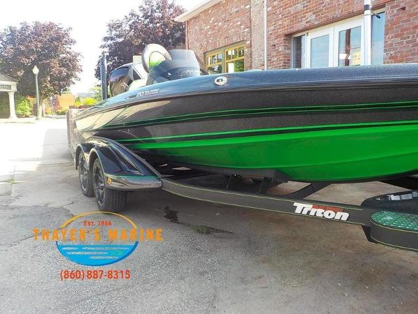 2019 Triton boat for sale, model of the boat is 20TRX Patriot & Image # 10 of 52