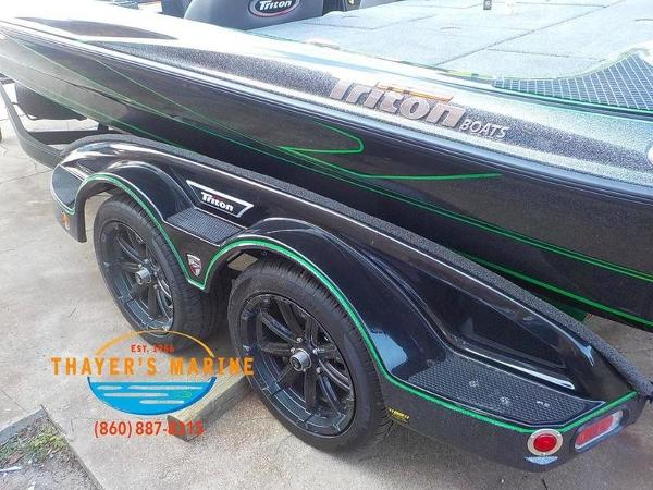 2019 Triton boat for sale, model of the boat is 20TRX Patriot & Image # 13 of 52