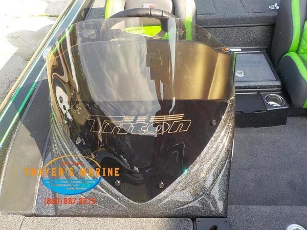 2019 Triton boat for sale, model of the boat is 20TRX Patriot & Image # 32 of 52
