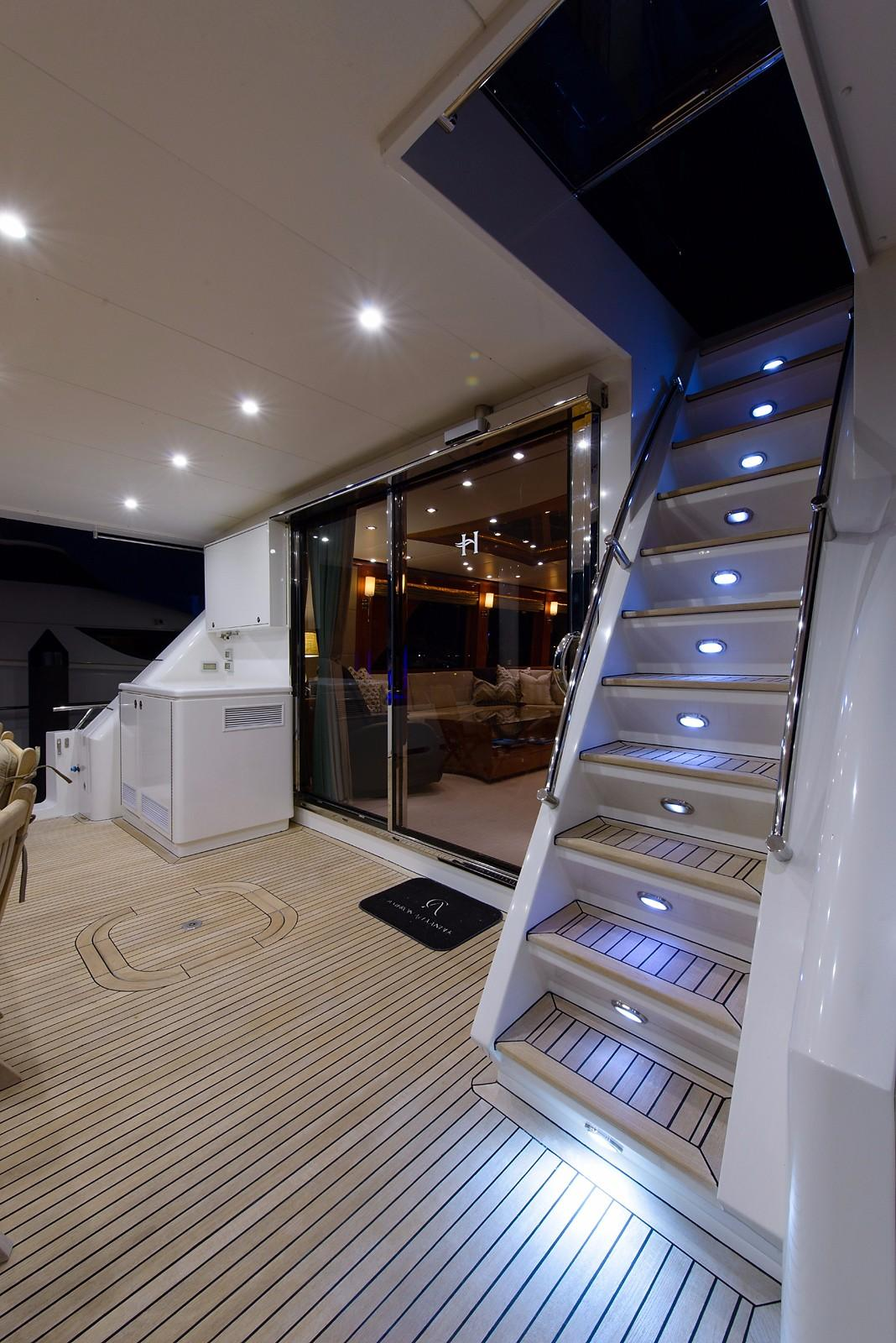 Aft Deck Stairs