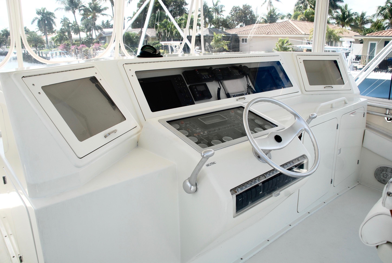 Flybridge Helm Console