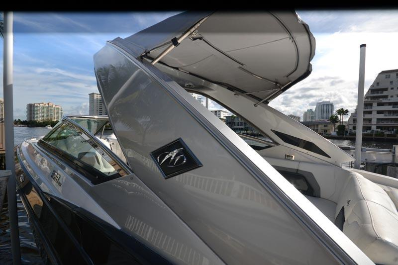 Transom View On Lift