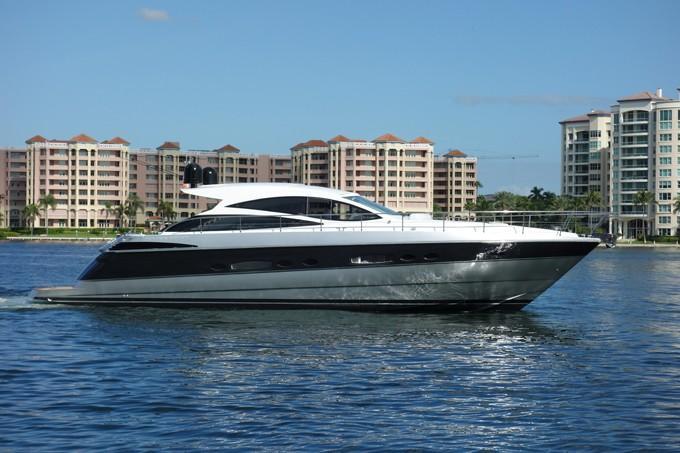 56 ft Pershing Performance Cruiser