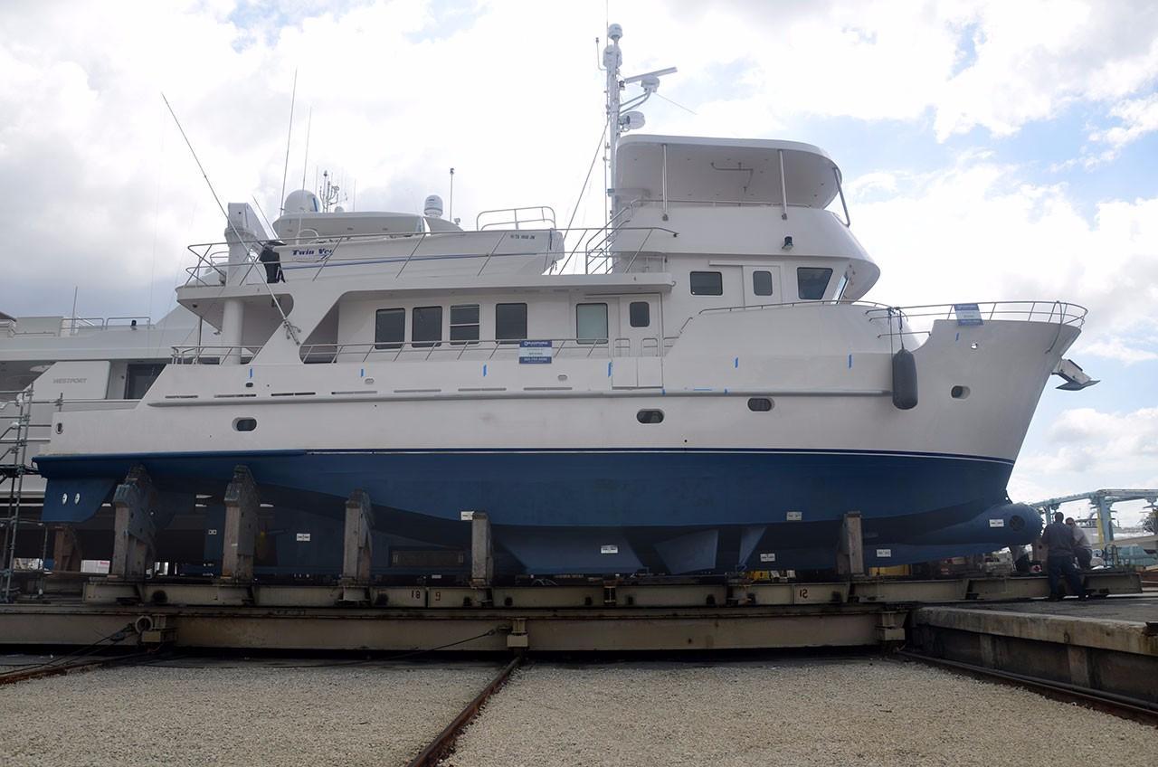 74 Cape Horn Trawler 2002 Cowboy Fort Lauderdale Florida