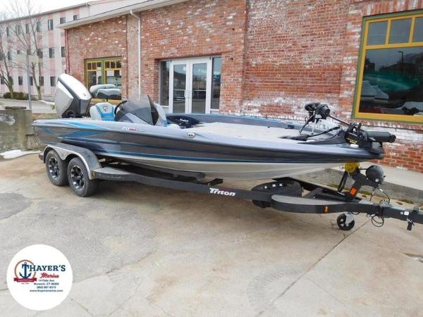 2018 Triton boat for sale, model of the boat is 20 TRX & Image # 1 of 42