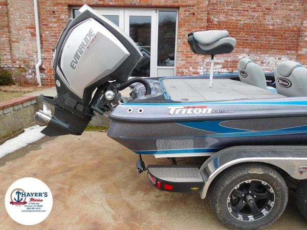 2018 Triton boat for sale, model of the boat is 20 TRX & Image # 38 of 42