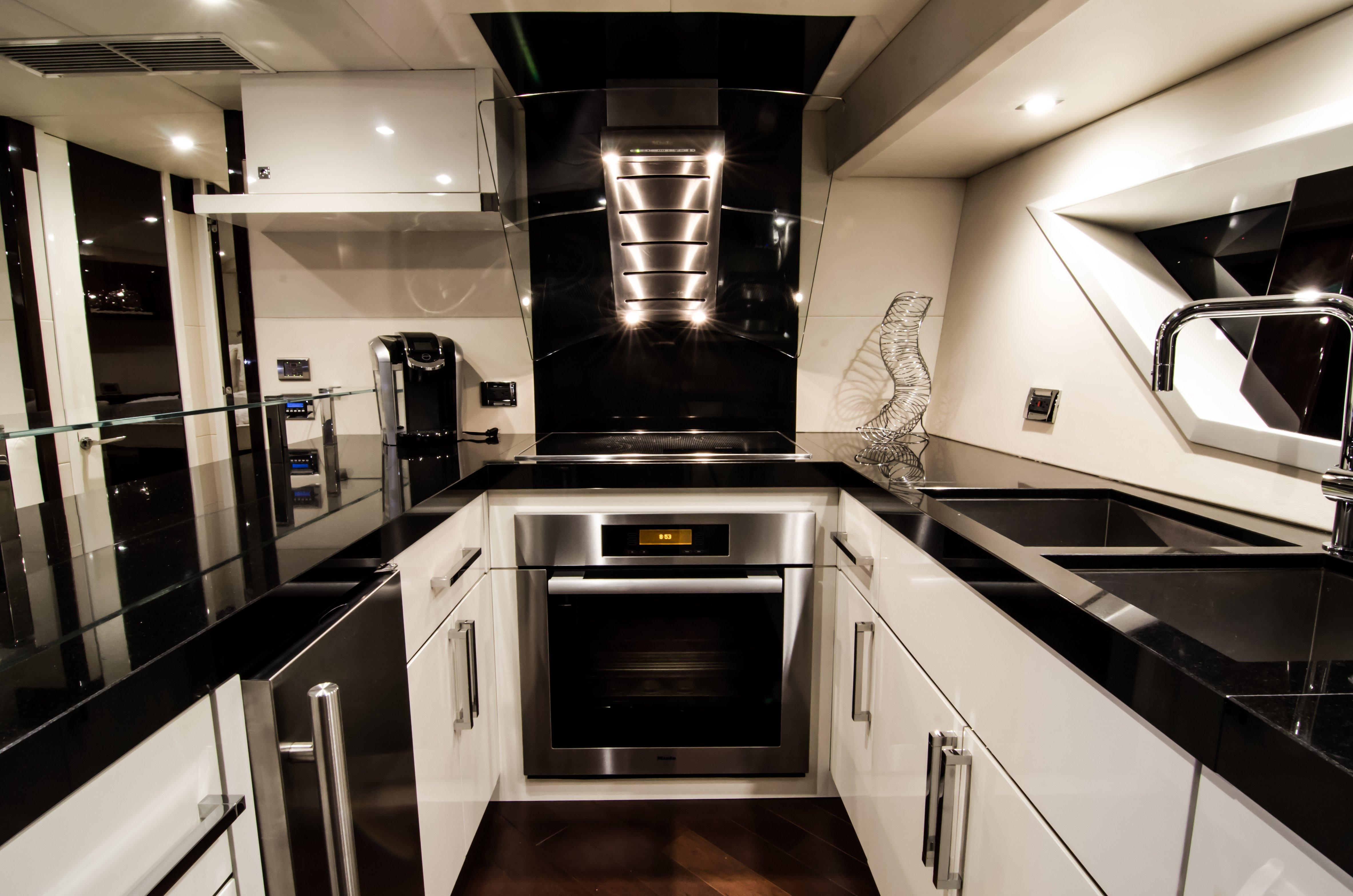 Galley- Stove Top and Oven
