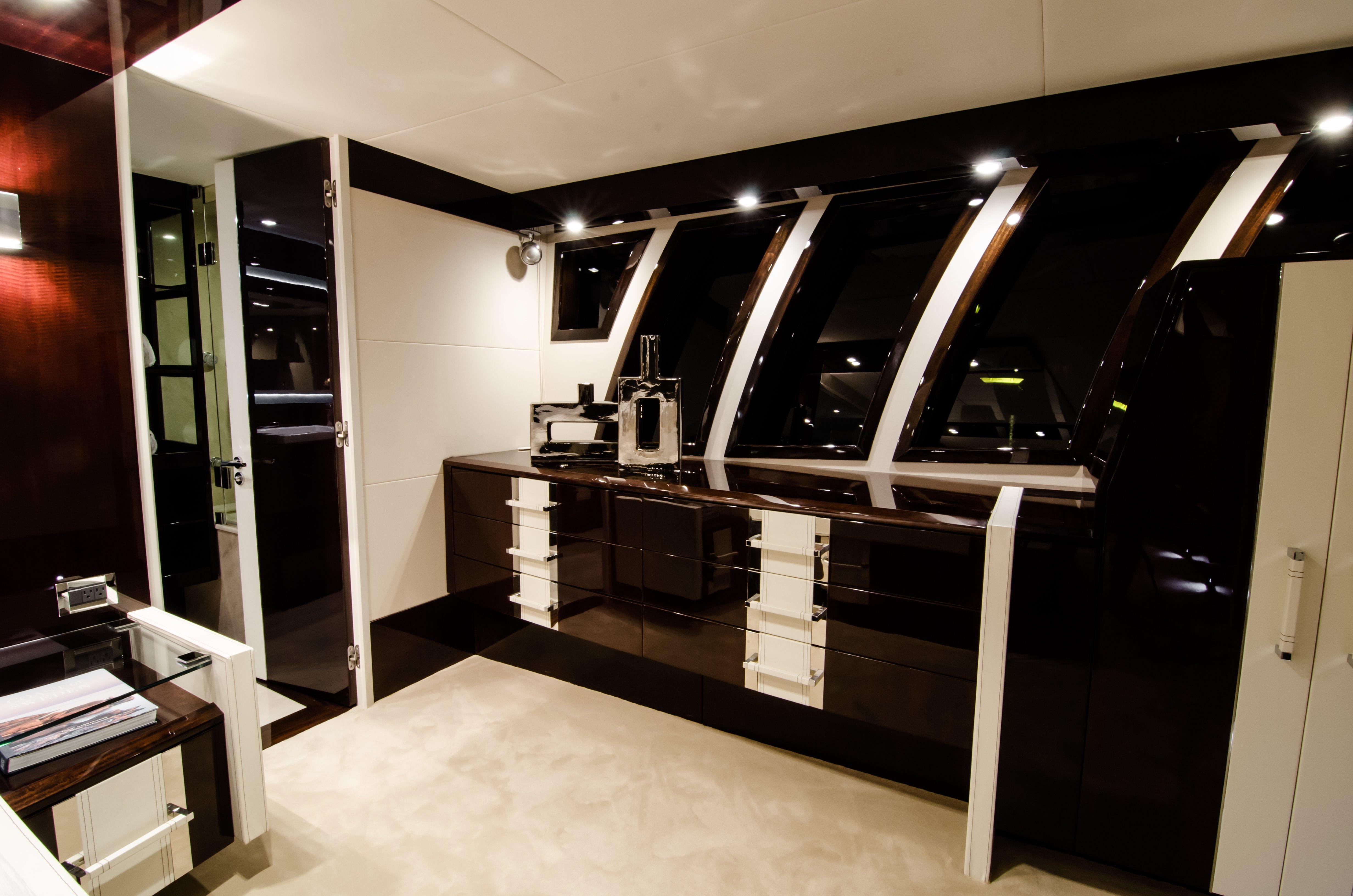 Master Stateroom- Dressing Bureaus