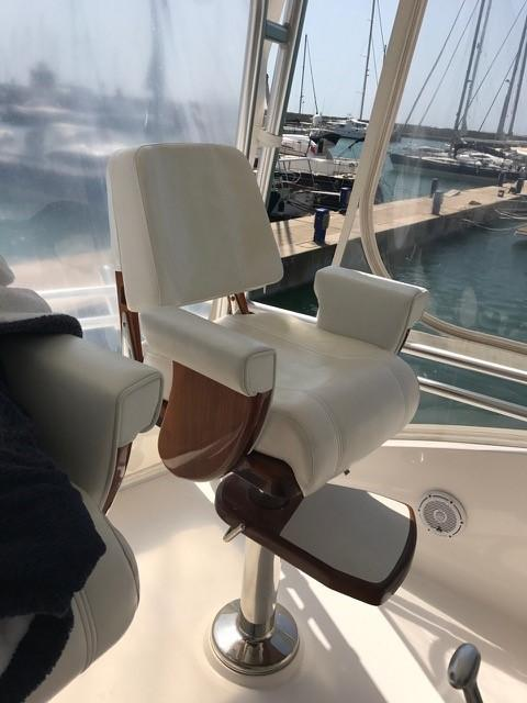 Flybridge Helm Chairs