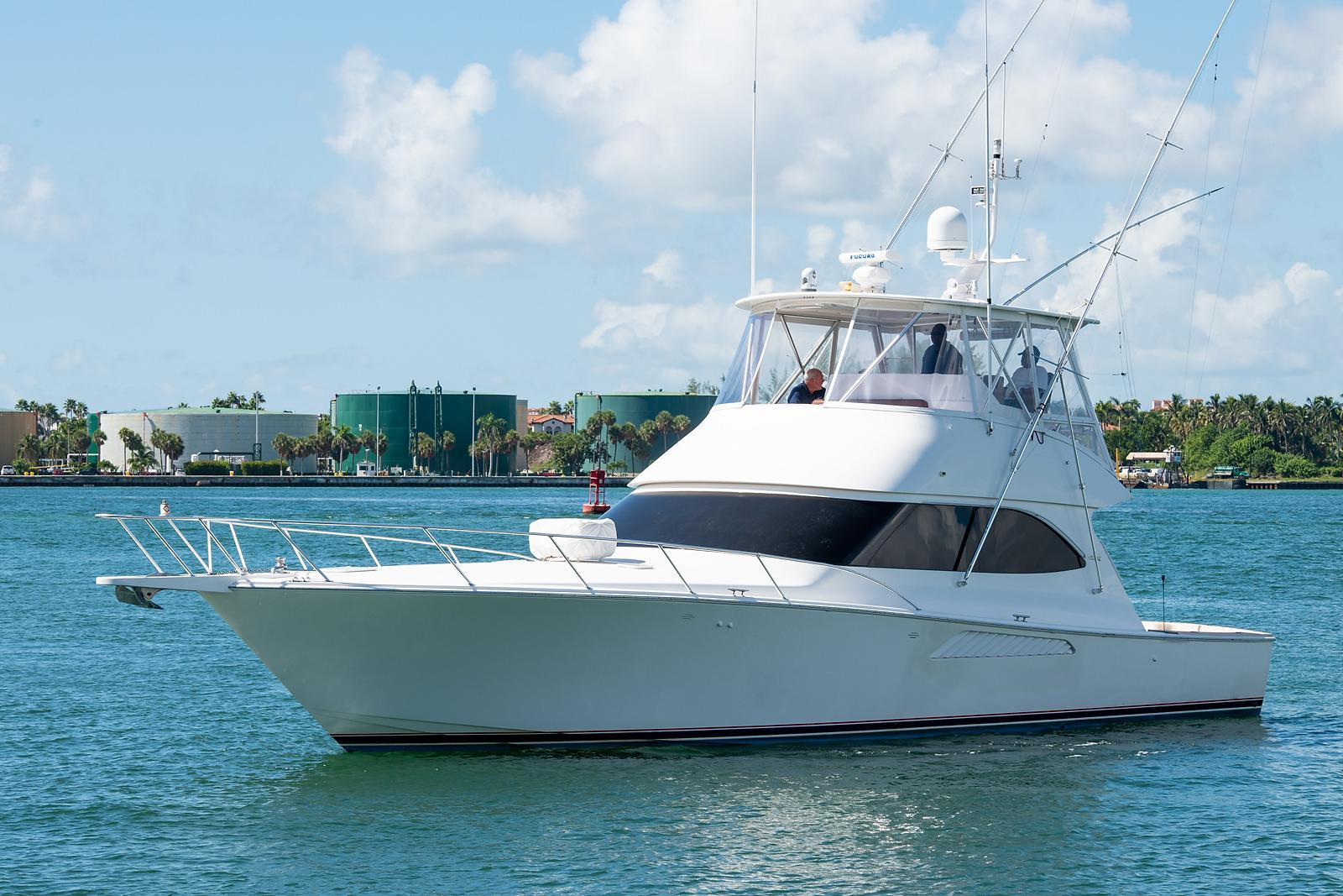 Justin Nic Of Time Viking 2010 50 Convertible 50 Yacht For