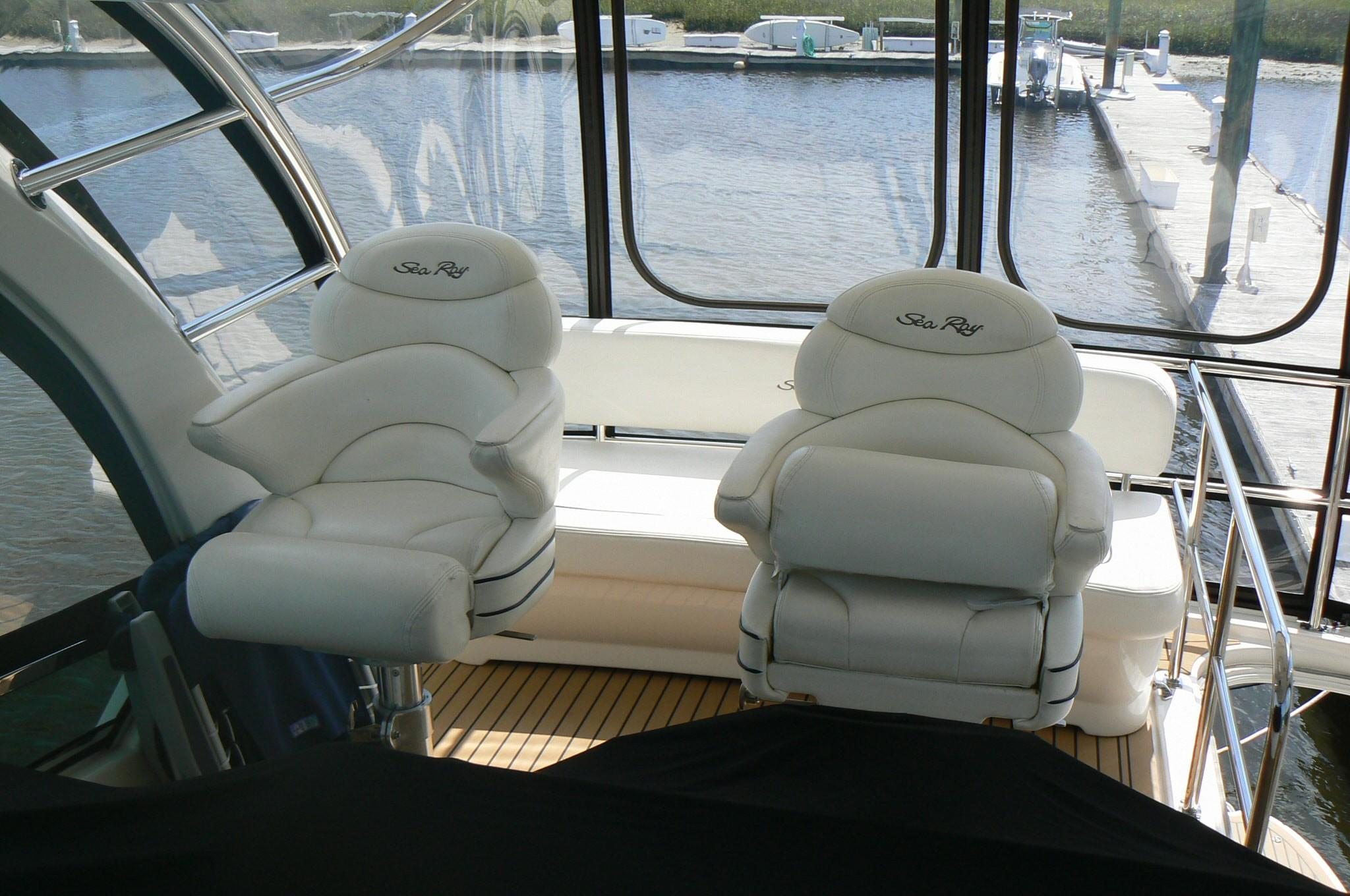 Captains Chairs with Bolsters