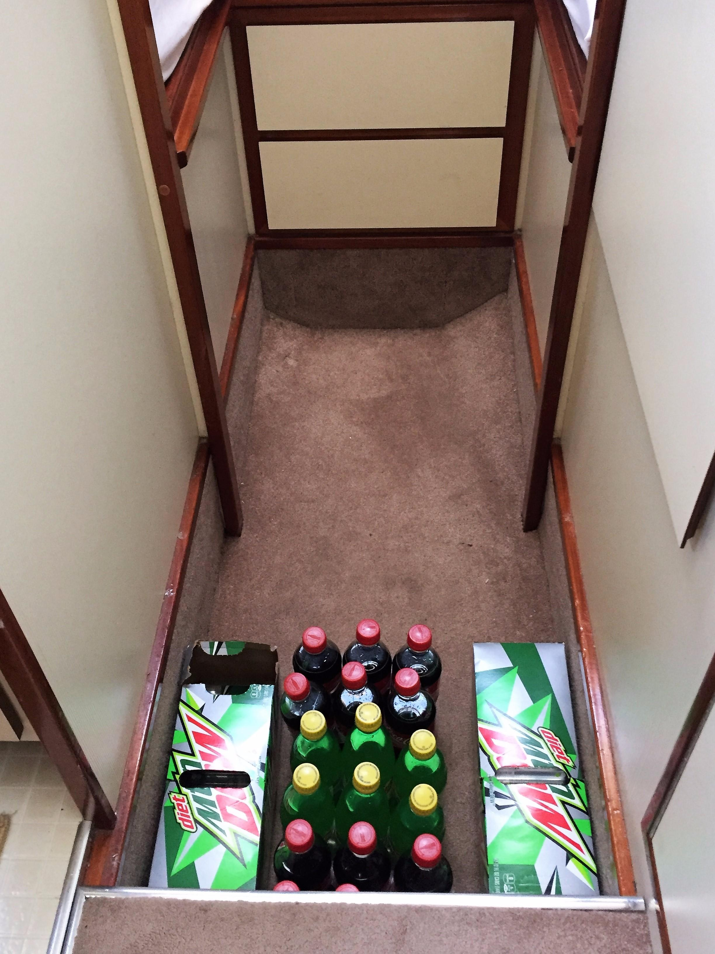 Camano Troll - under floor storage
