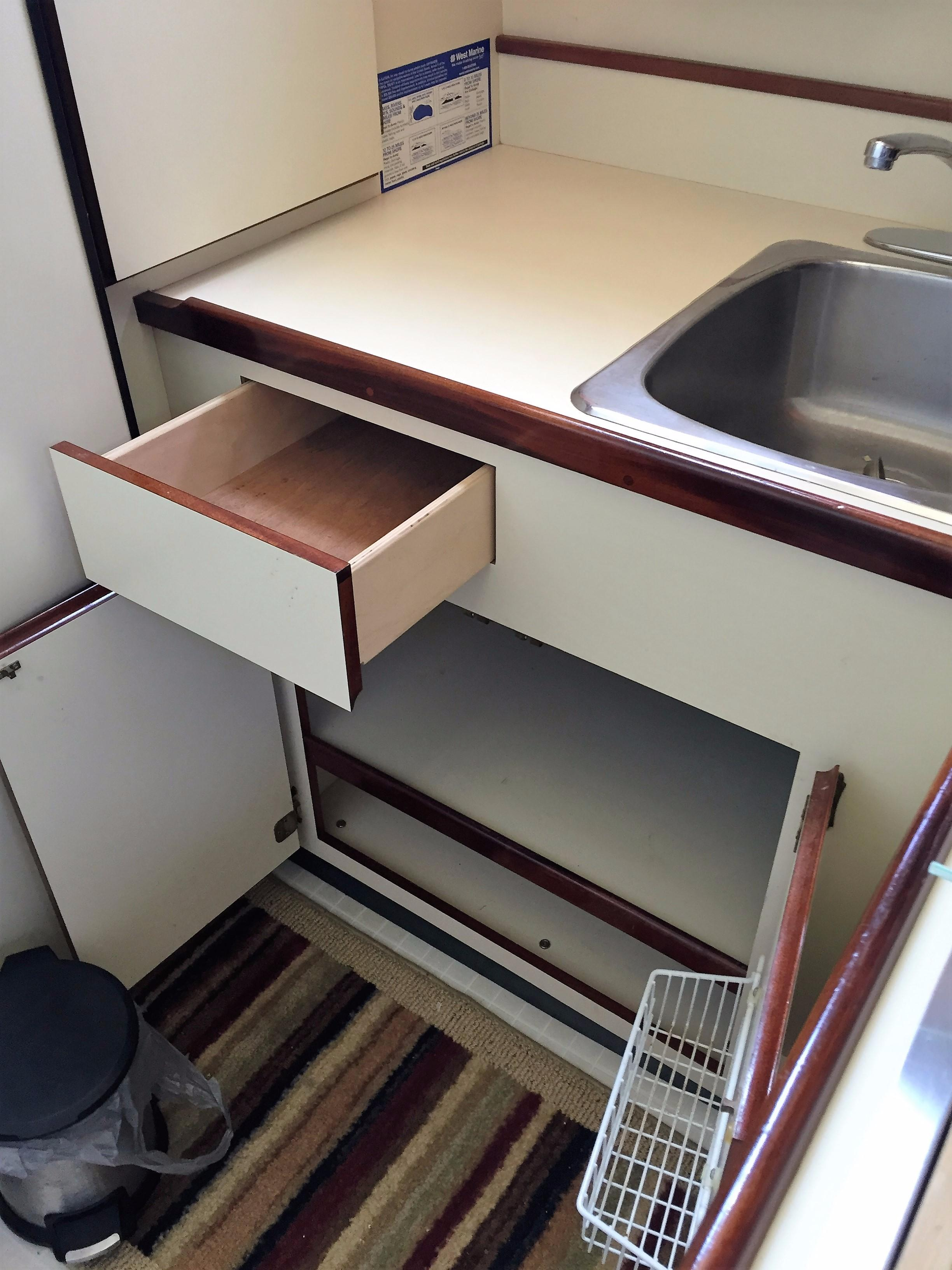 Galley Storage Under Sink