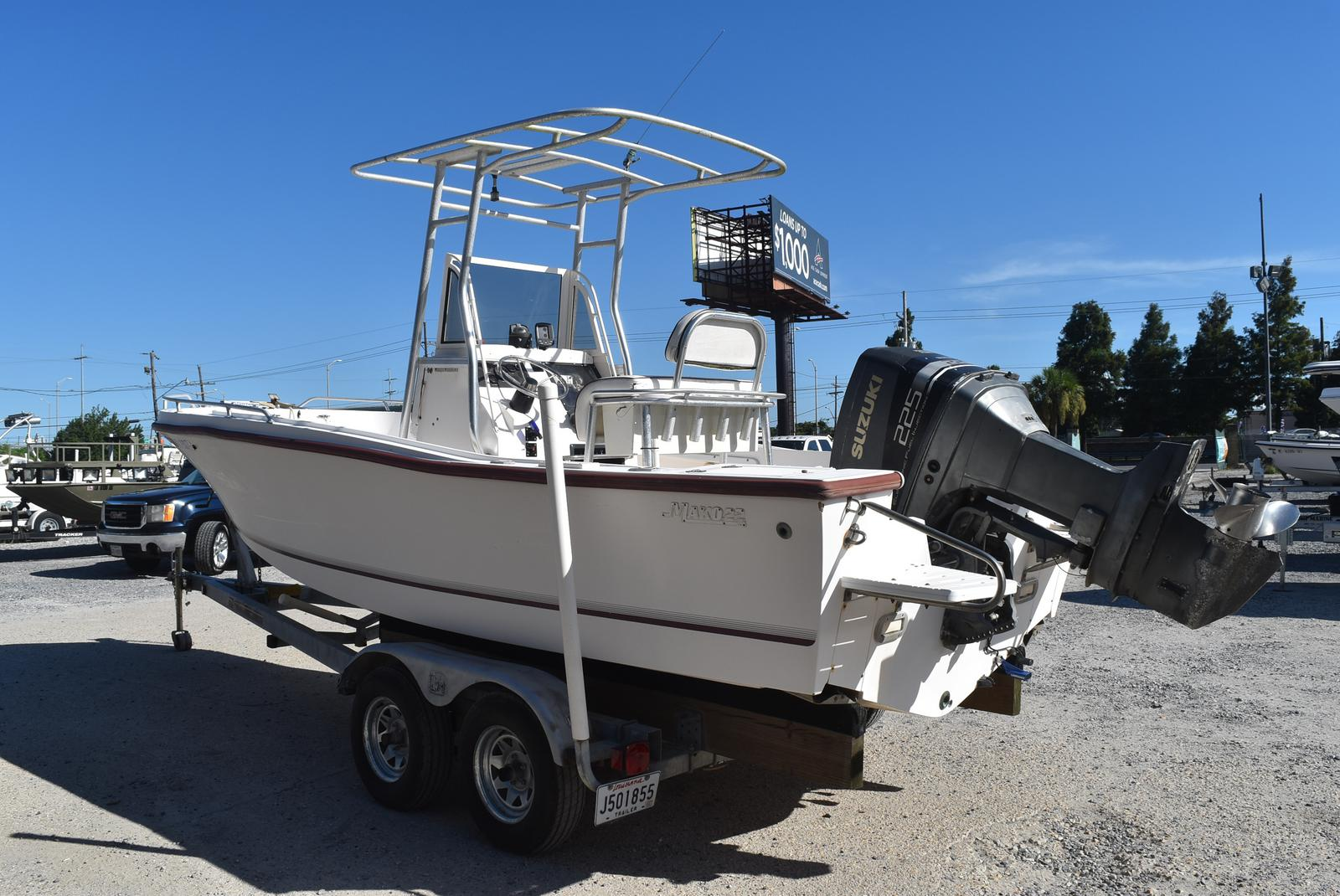 1996 Mako boat for sale, model of the boat is 22 Mako & Image # 9 of 26