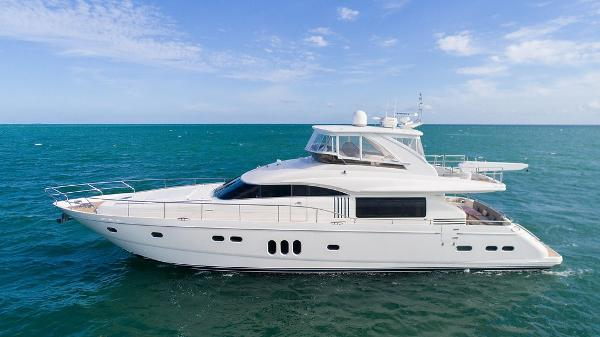 2008 75' Viking Sport Cruisers by Princess 75 Motor Yacht