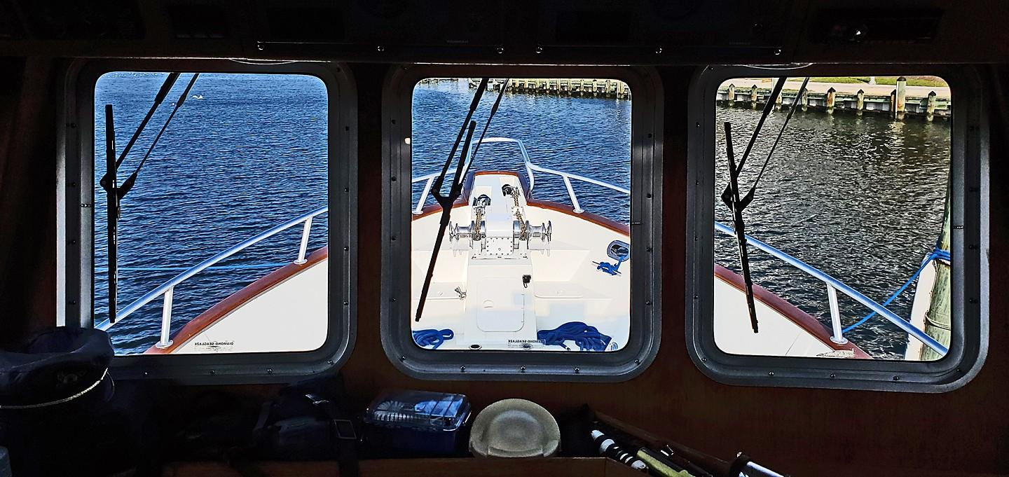 View Fwd from Pilothouse
