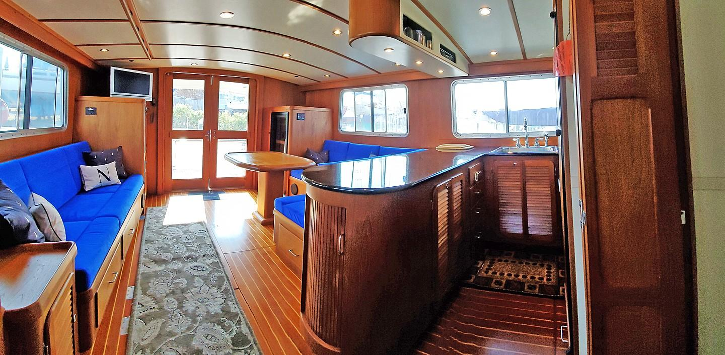 Galley from Stairs