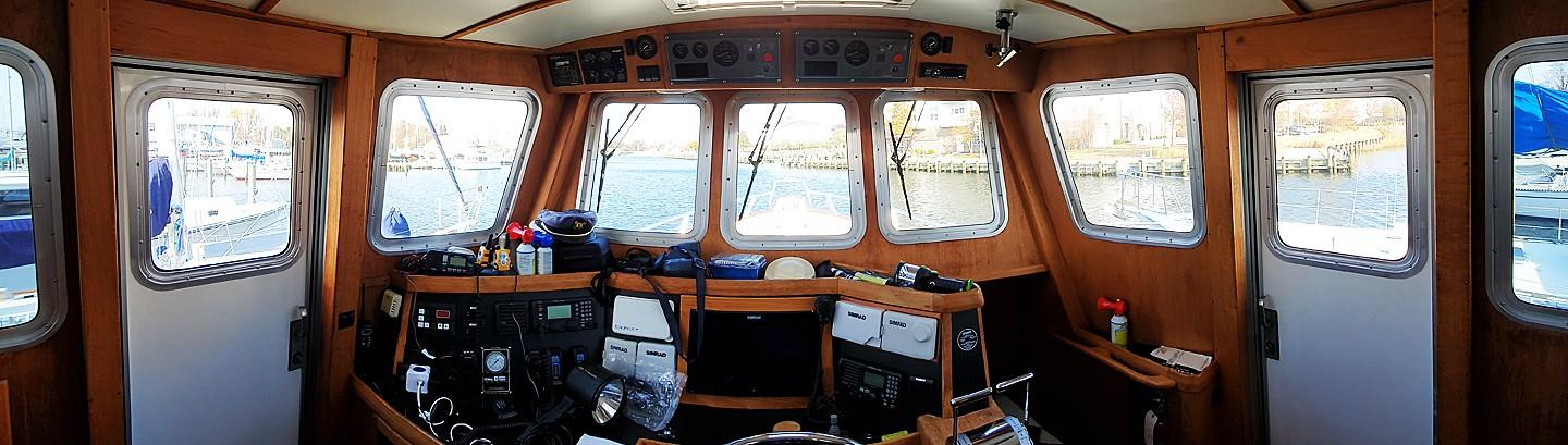 180 Degree View from Pilothouse