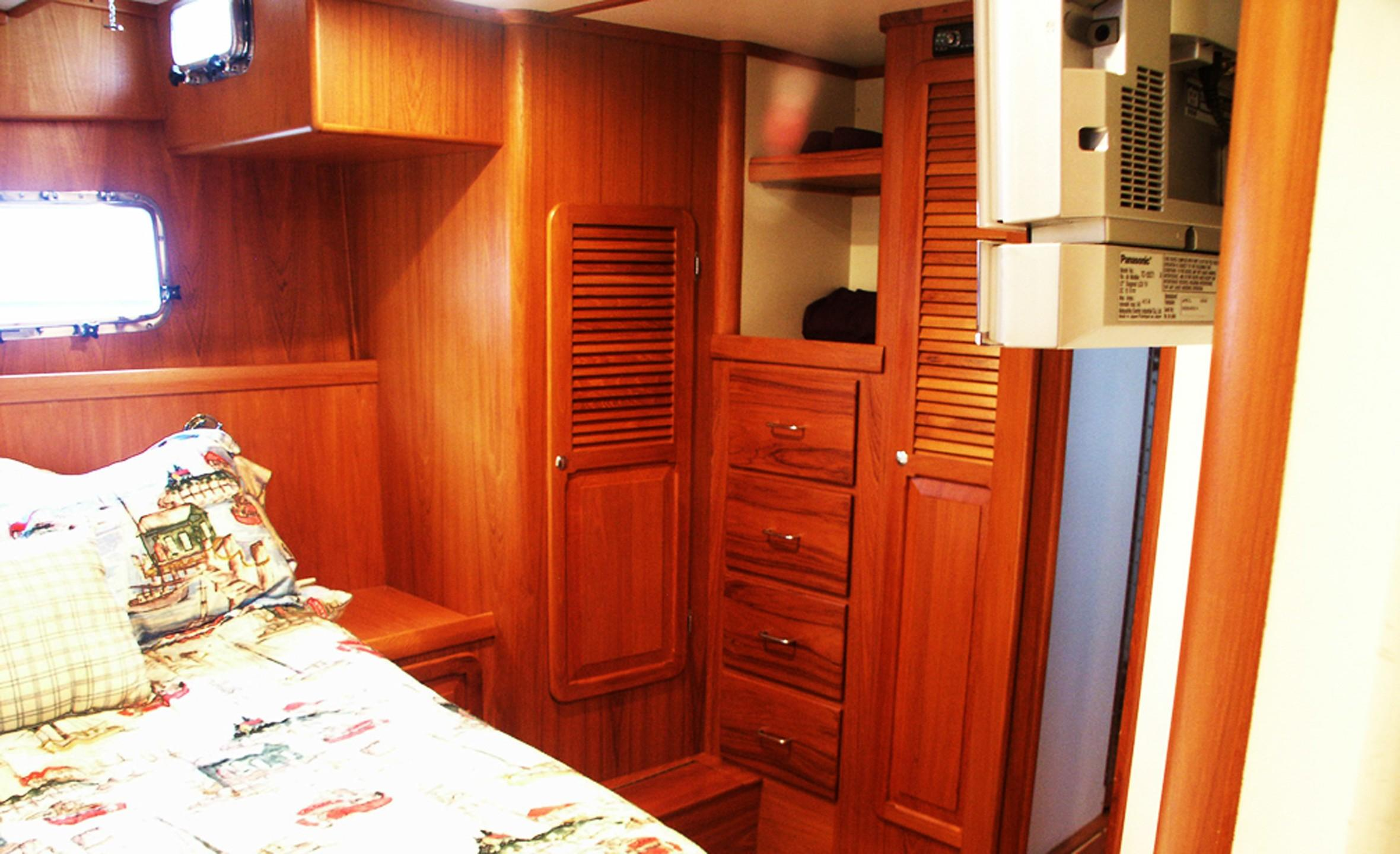 Owners Stateroom from Head