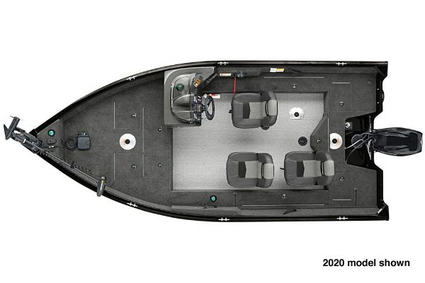 2021 Tracker Boats boat for sale, model of the boat is Pro Guide V-16 SC & Image # 3 of 4